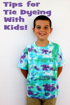 Simply Designing with Ashley: Tips for Tie Dyeing With Kids