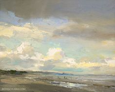 Posted at: https://roosschuring.com/painting-seascapes/best-skies/ Bright Sky and Clouds. The Best skies are visible right before or right after Rain. Pay attention to it, do you see it? It's different from other skies & clouds. These skies happen unexpectedly and have just more 'drama'. Often you're in the car, driving through these... There's more at: https://roosschuring.com #Beach, #Bluesky, #Clouds, #Seascapepainting, #Seaside, #Skyscape, #Zee