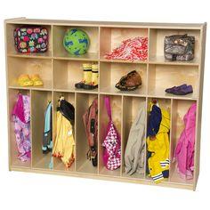 Wood Designs 8-Section Neat-N-Trim Locker & Reviews   Wayfair Supply