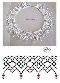 Free openwork beaded collar pattern by anna anchik martynov featured in bead patterns com newsletter – ArtofitBest Seed Bead Jewelry 2017 Free pattern for beaded necklace Galaxy Diy Necklace Patterns, Beaded Jewelry Patterns, Bead Jewellery, Seed Bead Jewelry, Marble Jewelry, Choker Jewelry, Beading Jewelry, Beading Patterns Free, Beading Tutorials