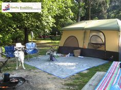 Camping tips for newbies!  Enjoy a Midwest park this year!