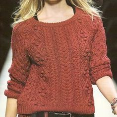 sueter irlandés femenino, tejido a palillo talla 42-44 chaleco para mujer tejido a palillo OjoconelArte.cl |