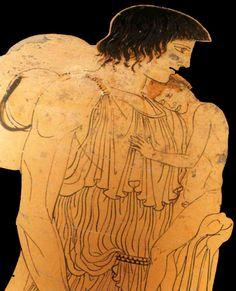 Photo by kvakouf Mycenaean, Minoan, Ancient Greek Art, Ancient Greece, Art Romain, Sea Peoples, Art Occidental, Greek Pantheon, Before The Flood