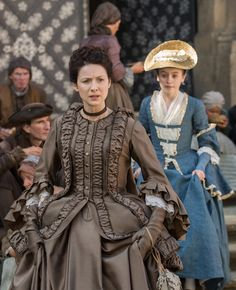 S2 -Claire Fraser and Mary Hawkins..