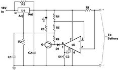 Car Battery Charger - circuit diagrams, schematics, electronic projects