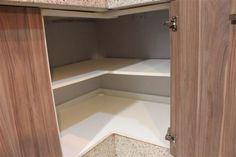 armarios de canto da cozinha