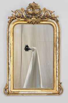 A 19th c. Louis Philippe Style Gilded Mirror