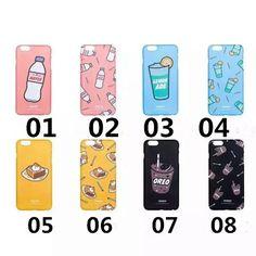 Coque rigide ponçage de dessin de limonade pour iPhone 6s 6splus sur www.lelinker.fr