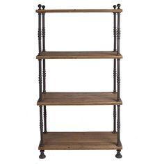 bookshelf replacement?  French Shopkeeper's Shelves   Wisteria