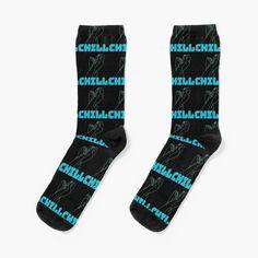 Chill, Funky Socks, Novelty Socks, Designer Socks, Art Design, Good Vibes, Crew Socks, Streetwear Fashion, Chic Outfits