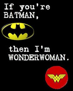 Batman & Wonder Woman