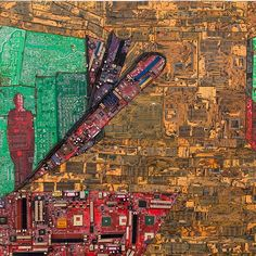 Ethiopian artist Elias Sime's New York debut exhibition now open at James Cohan Gallery NEW YORK, NY.