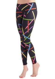 Drawing Compliments Leggings, #ModCloth