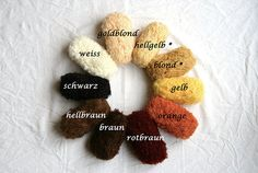 1 ball ( 50gr.) mohair loop yarn for doll hair, crocheted doll wigs ( original De Witte Engel)  1 ball of mohair : 64% Mohair 27% Wool, 9% Polyamid;