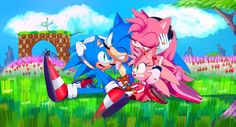 sonic family to my version..