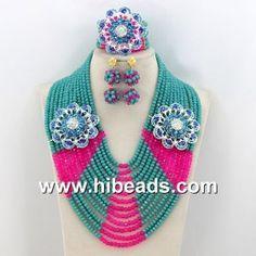 african beads jewelry set