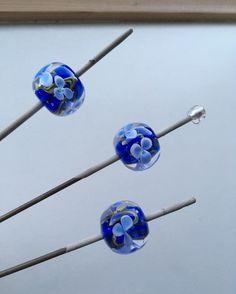 Leukbezig met een opdracht. #blauw#beads #handmade #jewelry #blue