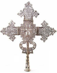 buy processional cross from Ethiopia - large | Processional Cross Ethiopian Orthodox 24 x 19 inch Large Large Cross ...