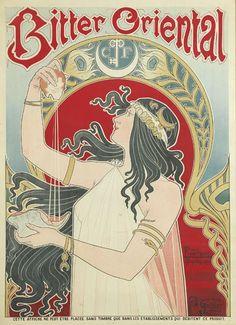 Bitter Oriental (1897) by Henri Privat Livemont