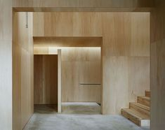 Casa 'na' in Japan, Studio Architect Shuji Hisada. #plywood