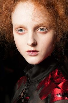 Look to the autumn/winter 2015 catwalks for your Halloween beauty inspiration this year #HalloLook #allbeauty @allbeauty.com