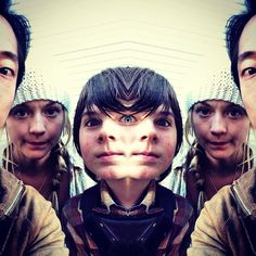 photo by steve yeun - 'third eye halloween'