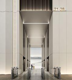 Office Entrance, Entrance Design, House Entrance, Office Building Lobby, Office Lobby, Lobby Lounge, Hotel Lobby, Lobby Interior, Interior Design