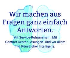 Wir machen aus Fragen ganz einfach Antworten, KI im Kundendialog, Automatisierung, telefonische Erreichbarkeit, Cloud-Lösung, Customer Intelligence, Mainz Artificial Intelligence, Mainz, Simple