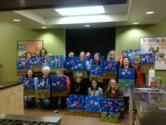 This is the best party idea ever--Painting and drinking w/the girls! Everyone brings home their painting.   Amanda brings ALL the supplies and gives step-by-step painting instruction; Affordable and fun. Check it out. Cork N Canvas Iowa