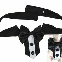 Large Dog bow Collar big dogs tuxedo bowite for formal party dog accessories (L-XL) - PET SUPPLIES Dog Accesories, Pet Accessories, Fashion Accessories, Dog Tuxedo, Papillon Dog, Puppy Gifts, Buy Pets, Animal Fashion, Pet Beds