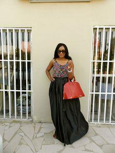 Kiki's Fashion: Maxi skirt designed by Kiki Zimba