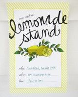 The Sweetest Occasion *Printables and DIY Lemonade Stand Printables