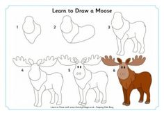 Moose d httpdragoarttuts1170611how to draw a moose learn to draw a bison with our step by step guide with its thick neck ruff and horns is a bit more difficult than some of our other learn to draws thecheapjerseys Gallery