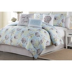 Bayshore Drive provides quality home furnishings and accessories available for every lifestyle. This comforter set includes a comforter, 2 pillow shams,...