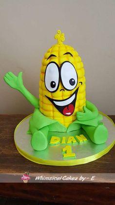 Cute corncob(mielie) cake