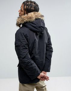 Carhartt anchorage parka grun