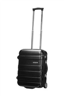 American Tourister - Pasadena 2 Wheel Upright Cabin Case - from Luggage Superstore Hard Sided Luggage, Trolley Bags, Suitcase, American, Black, Cabin, Black People, Cabins, Cottage