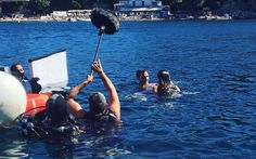 filming in the water