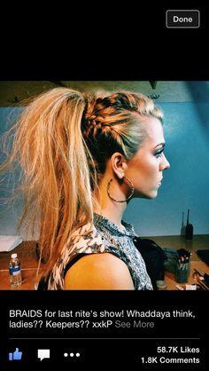 Love this cool idea for hair
