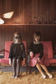 Brillian retro shoot by Maya and Renata for Ladida kids fashion fall/winter 2016