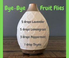 Essential Oils diffuser blend to rid your home of fruit flies! – Essential Oil … Essential Oils diffuser blend to rid your home of fruit flies! – Essential Oil Diffuser – Ideas of Essential Oil Diffuser Essential Oils 101, Essential Oil Diffuser Blends, Doterra Diffuser, Homemade Essential Oils, Doterra Oils, Fruit Flies, Diffuser Recipes, Aromatherapy Oils, Aromatherapy Recipes