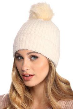 52aa9c12f09 ENJOYFUR Spring Autumn hats for women knitted wool beanies hat 2017 ...