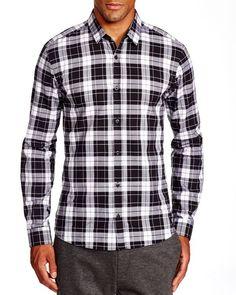 Hugo Ero Large Plaid Slim Fit Button Down Shirt - 100% Bloomingdale's Exclusive