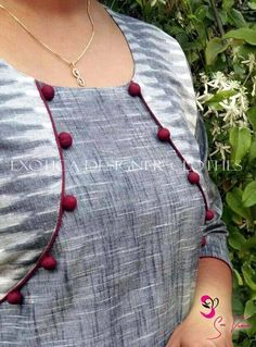 How to make different types of kurthi neck patterns Courtesy: Needle Magic Kurtis have become a very integral outfit it Indian fashion industry. From parties to casual wear for your work everyday, kurtis have become a big fashion statement. The ease of collaborating bright hues with a salwaar or