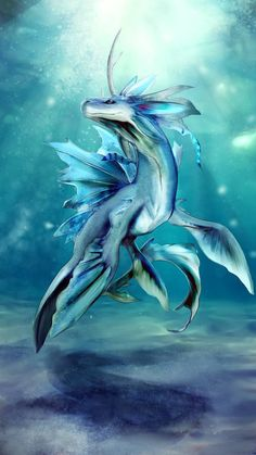 Seabeast by Blue-Hearts on DeviantArtYou can find Magical creatures and more on our website.Seabeast by Blue-Hearts on DeviantArt Cute Fantasy Creatures, Mythical Creatures Art, Mythological Creatures, Weird Creatures, Magical Creatures, Mystical Creatures Drawings, Monster Concept Art, Fantasy Monster, Mystical Animals