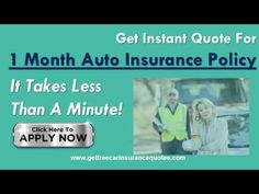 How to get cheap auto insurance for a month - Buy a 1 month low cost car insurance - WATCH VIDEO HERE -> http://bestcar.solutions/how-to-get-cheap-auto-insurance-for-a-month-buy-a-1-month-low-cost-car-insurance     Get fast, easy and cheap car insurance companies for a plan Of months. Visit: save money by qualifying for affordable quotes at 1 month at getfreecarinsurancequotes.com Find and compare the best quote for a one month auto insurance coverage with full coverage opti
