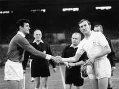 1962 European Cup Danny Blanchflower