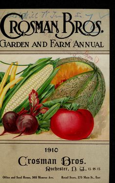 Catalogue  Garden And Farm Annual : Autumn Planting 1910 :