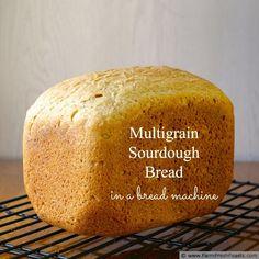 Feed South Africa Multigrain Sourdough Bread (in a bread machine)
