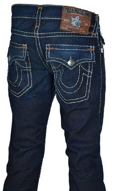 d2f90f569 True Religion Brand Men's Ricky Super T Jeans (Collateral) (36) Religion  Jeans